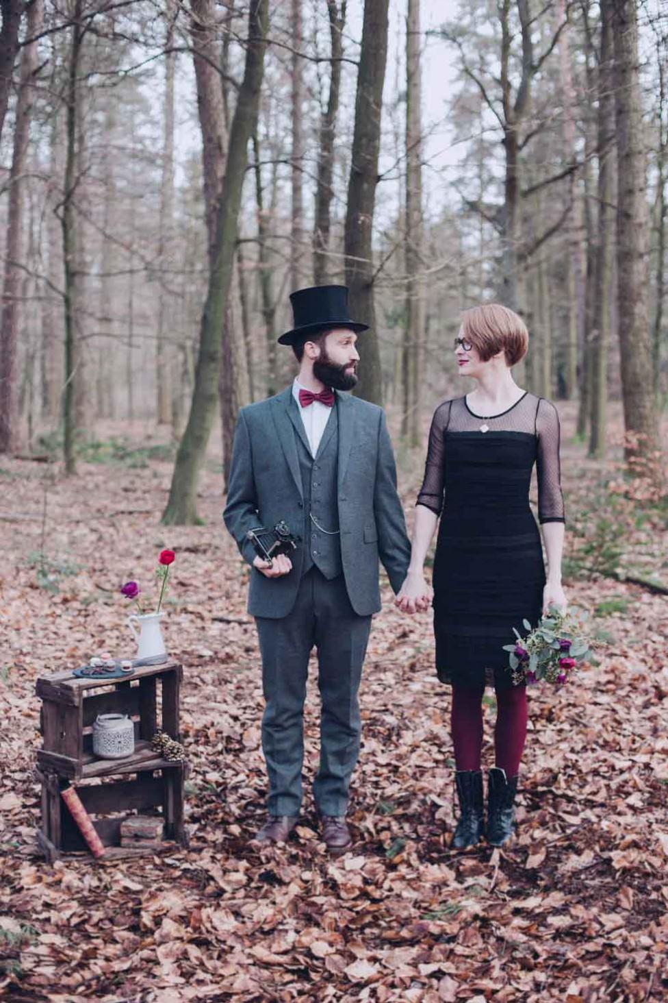 Vintage inspiriertes After-Wedding-Shooting von Alina Atzler