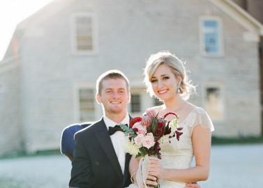 Farbenprächtige Hochzeitsinspiration von Kate Romenesko Photography