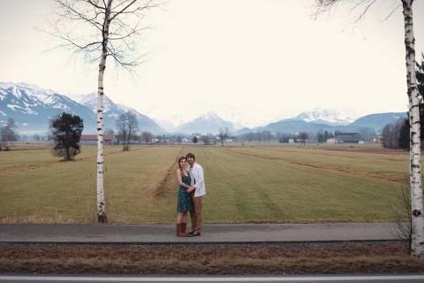 Love-Shoot in den Allgäuer Bergen