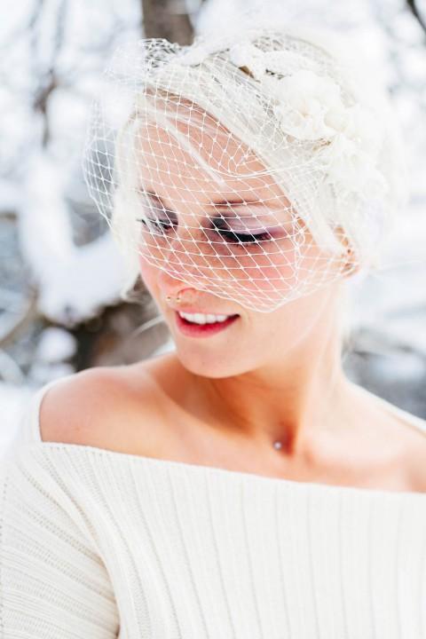 Rosaroter Wintertraum von creativeHeart – Hochzeitsfotografie und La Chia Accessoires