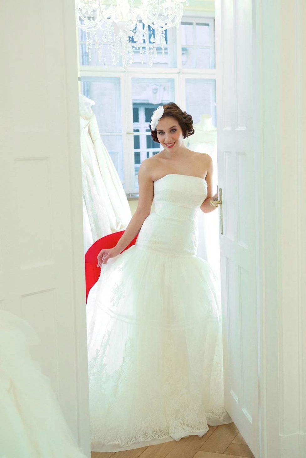 Auf Brautmodenschau bei Flamenco Claudia Klimm