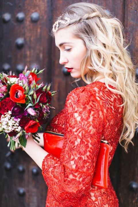 Standesamt-Tipp: Das rote Kleid von Patricia Vincent - Hochzeitswahn ...