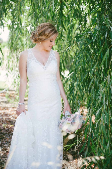 Rustikal-romantische Scheunenhochzeit von Jaime & Chase Photography