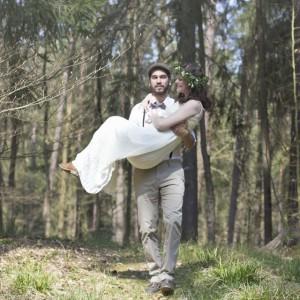 Dreamy Forest Wedding Inspiration von Blue & Ivory - Event Design Made in DE