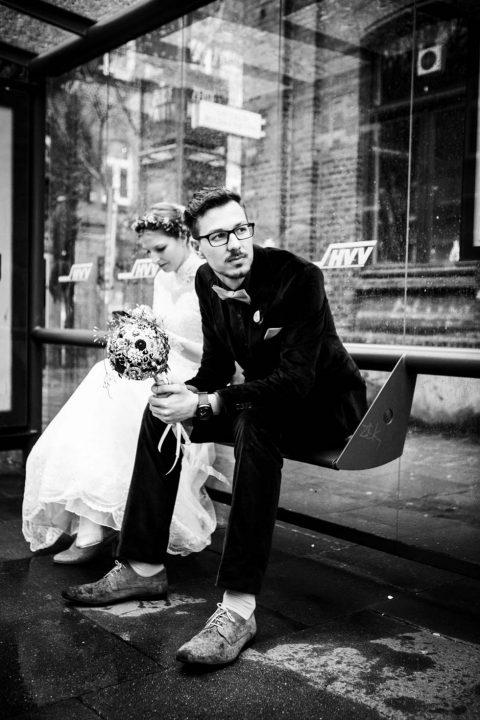 Hochzeit auf einem Alsterschiff in Hamburg von Julia Schick Fotografie