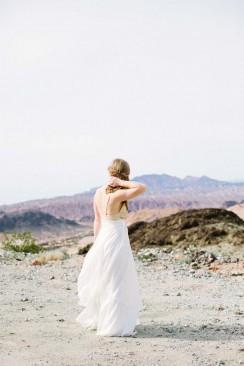 After-Wedding-Shooting in der Wüste von Nevada von Lea Bremicker