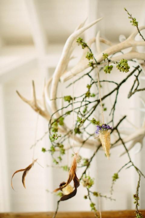Rustikale Waldhochzeit Inspiration von Aline Lange FOTOGRAFIE
