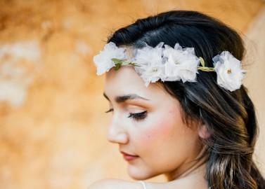 Ein Mallorca Bridal-Paradies mit anoushka Headpieces von Die Hochzeitsfotografen