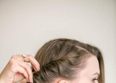 DIY: Frisches Frühlings-Make-up und romantischer Flecht-Look