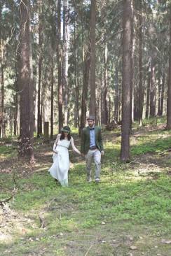 Dreamy Forest Wedding Inspiration von Blue & Ivory – Event Design Made in DE