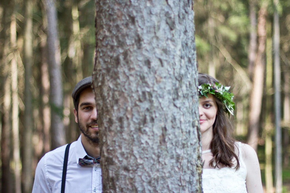Dreamy Forest Wedding Inspiration von Blue & Ivory – Event Design Made in DE