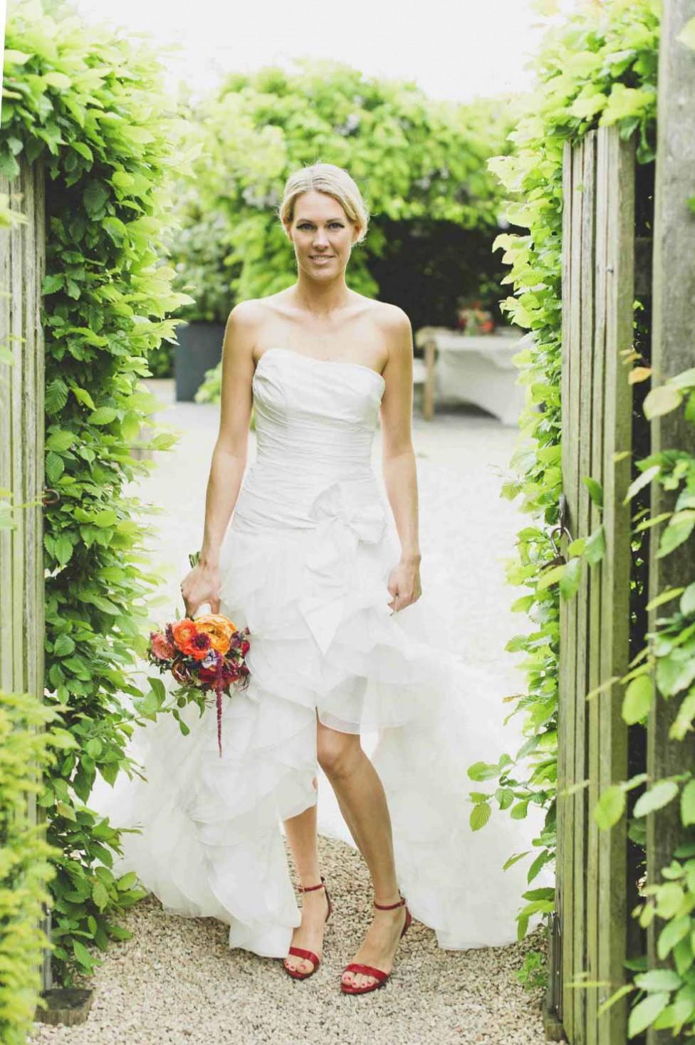 Hochzeitsinspiration: Ein Hauch von Orange von Alexandra Vonk