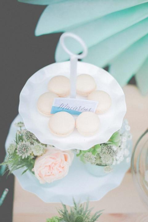 Romantisch-sommerleichte Hochzeitsinspiration