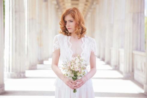 Elegant Verspielte Brautkleider Im Vintage Stil Von Fraulein Liebe