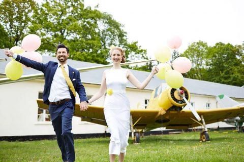 Trommelstöckchen und Chevron – eine Hochzeitsinspiration von festlicher und Kai & Kristin Fotografie