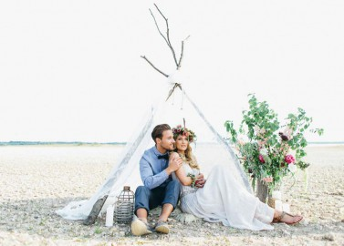 Bohemian Hochzeitsinspiration von bloom in may