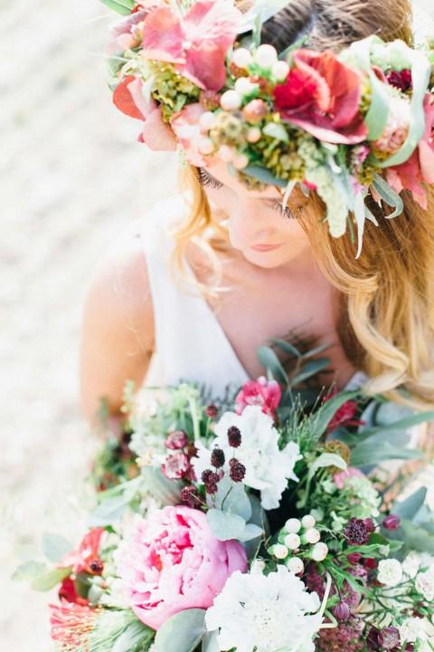 Bohemian Hochzeitsinspiration von bloom in may