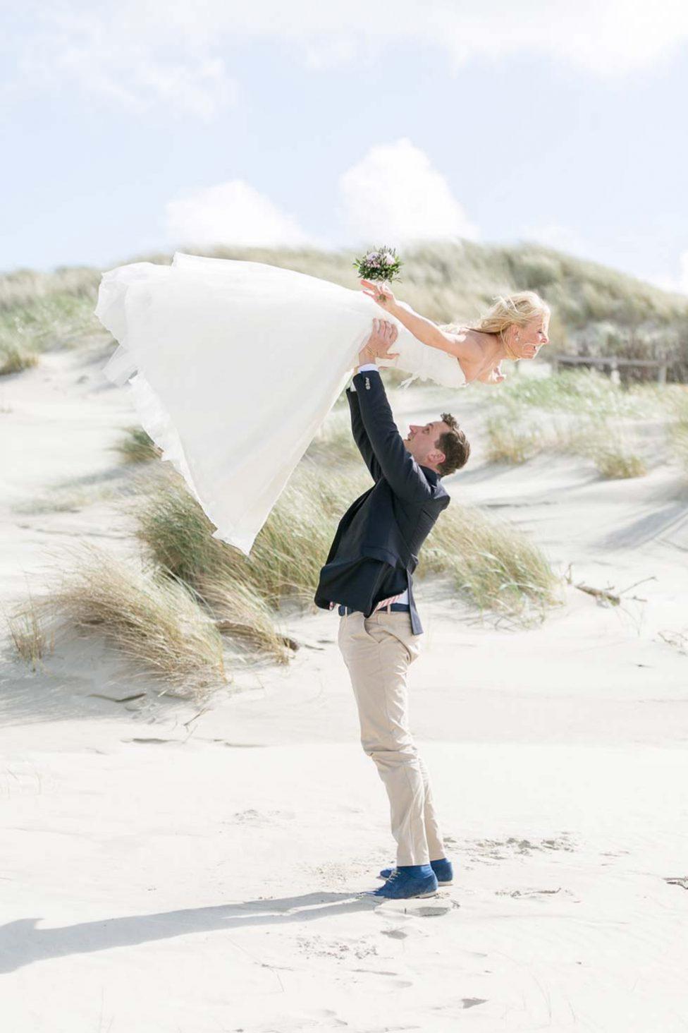 Ein sonniges After-Wedding-Erlebnis auf der Insel Juist