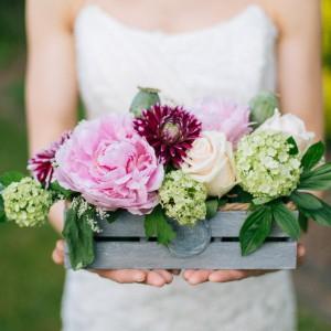 Blumen im Sommer - Eine Hochzeitsinspiration von Michael Palatini Fotografie und Blatt und Blüte