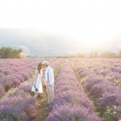 After-Wedding im Lavendelfeld der Provence