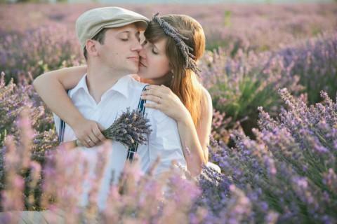 After-Wedding im Lavendelfeld der Provence