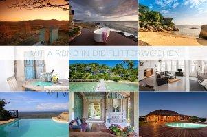 mit airbnb in die Flitterwochen