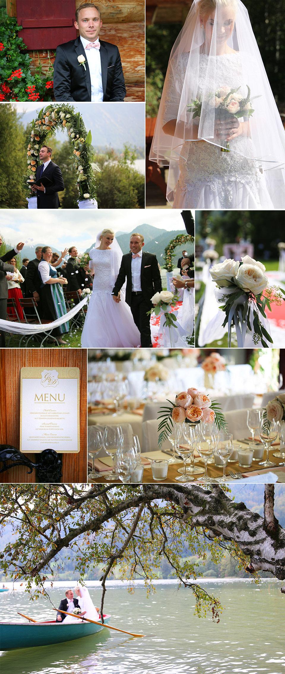 David Austin Rosen Hochzeit 2