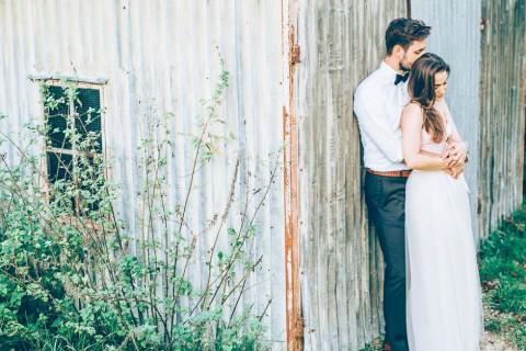 Romantisches Love-Shoot im Gewächshausgarten von Rico Grund Photography