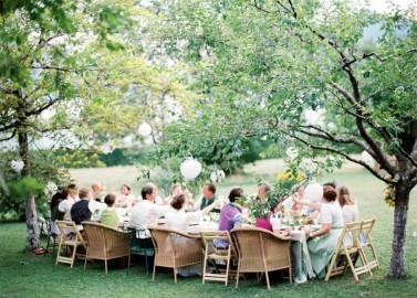 Tischlein deck dich – Eine bezaubernde Trachtenhochzeitsinspiration am Attersee