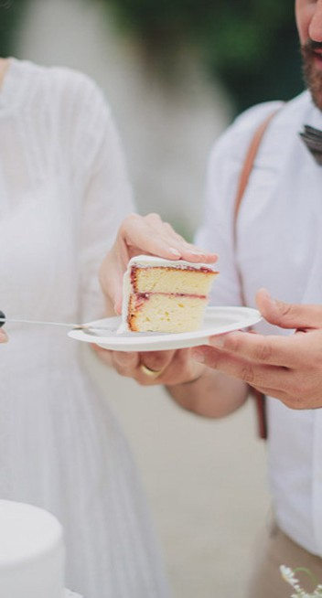 Wundervolles DIY-Hochzeitsfest auf Schloß Mühlbach