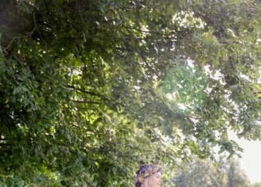 Wunderhübsche Gartenhochzeit unter Obstbäumen