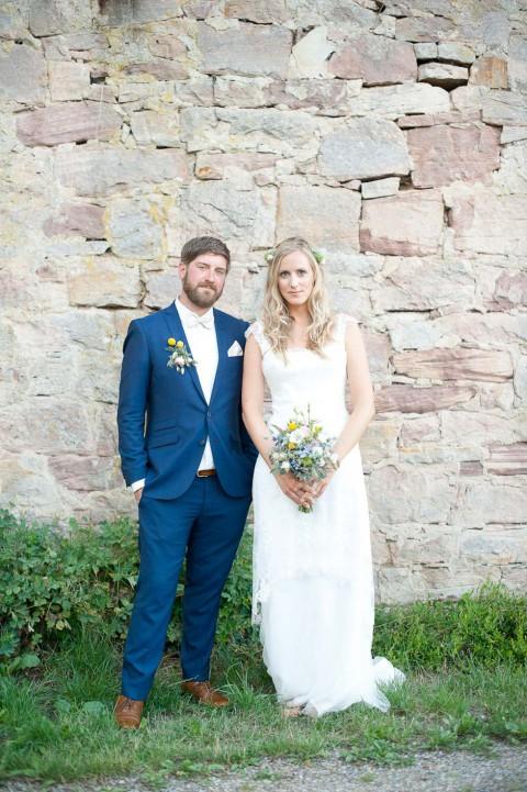 Romantische Burghochzeit im Wasserschloss Unsleben