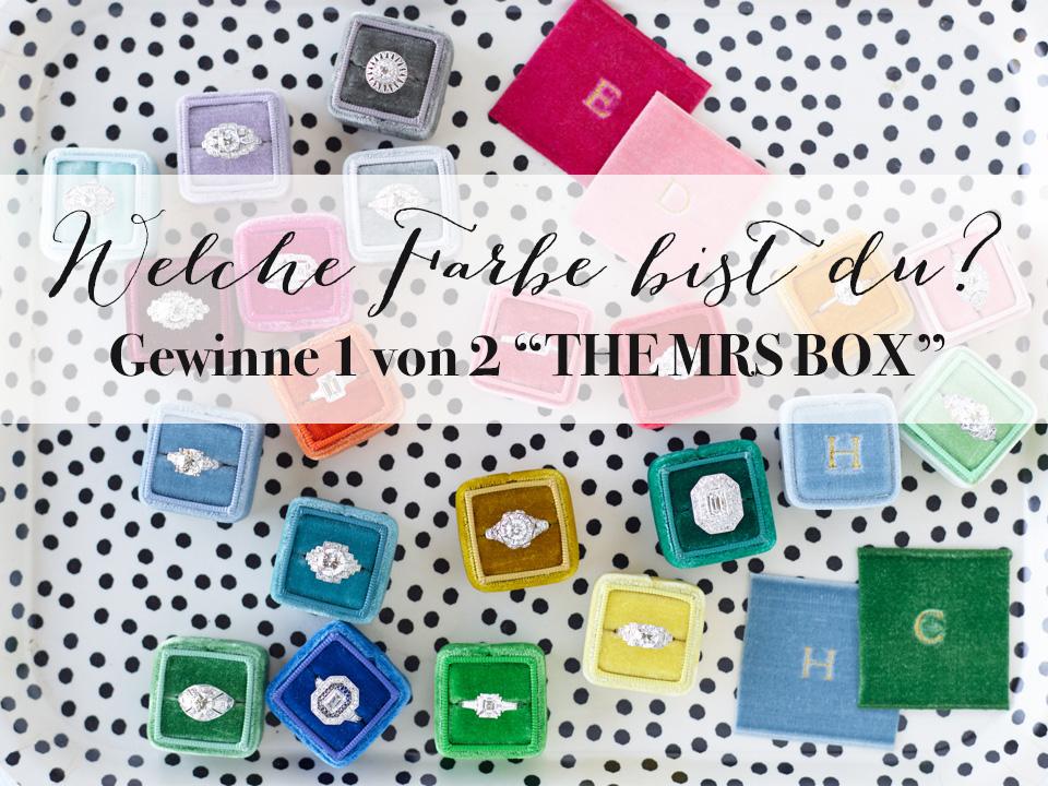 Hochzeitswahn feiert vier Jahre und wir feiern die ganze Woche lang - Gewinne mit The Mrs Box