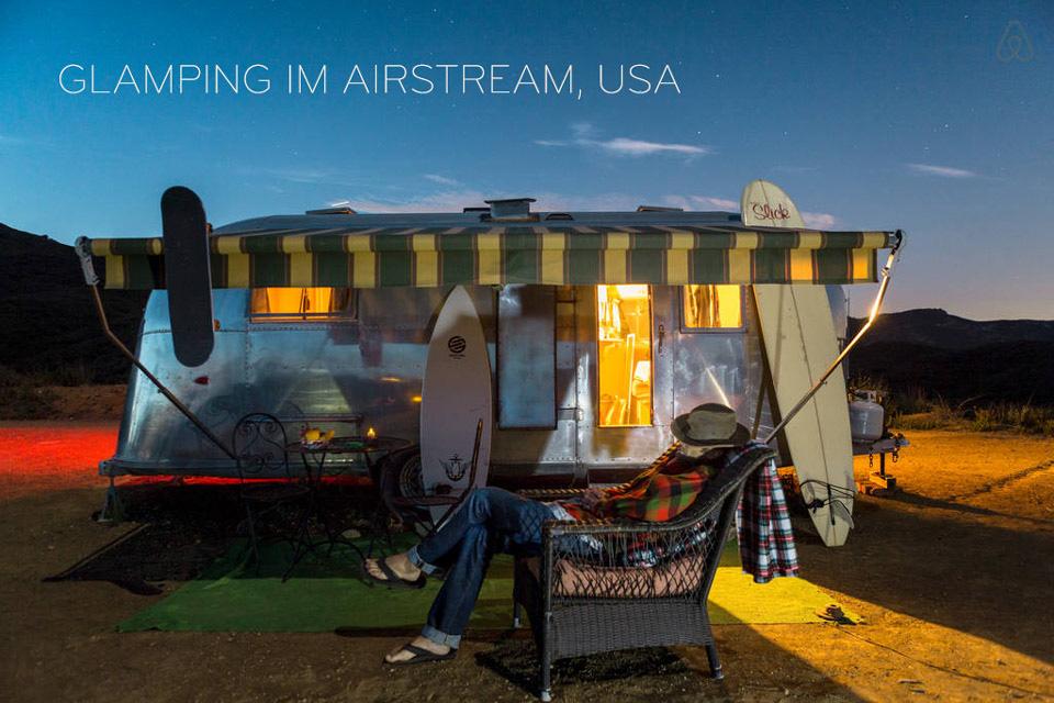 airbnb in kalifornien
