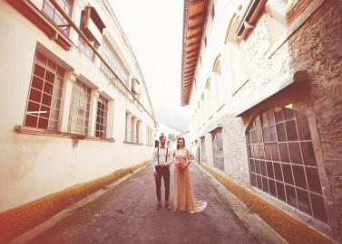 Vintage Fabrik-Hochzeitsinspiration von My Italian Wedding Planner