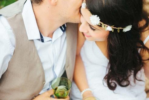 After-Wedding Fotoshoot am ersten Hochzeitstag