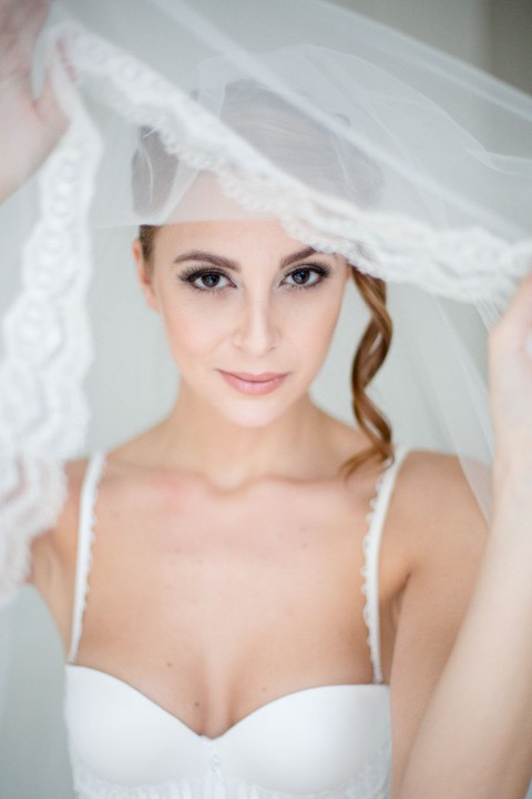 Bridal-Boudoir-Inspiration in Petrol-Farben