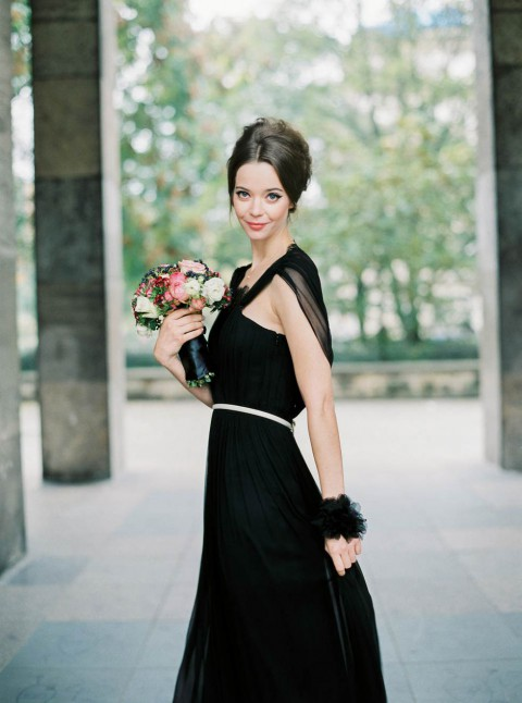 Hochzeitsinspiration: Schwarz ist das neue Weiß