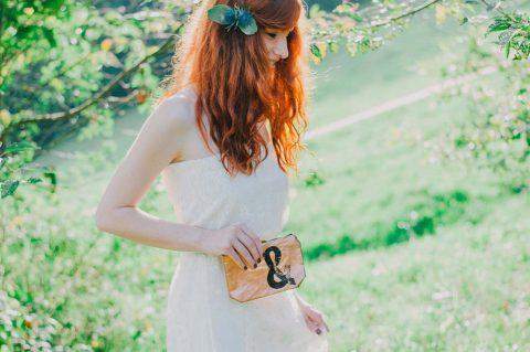 Winterliche Hochzeitsinspiration in den Trendfarben Kupfer und Mint