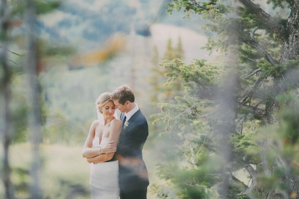 Grandioses Hochzeitsfest in der Bergkulisse von Utah