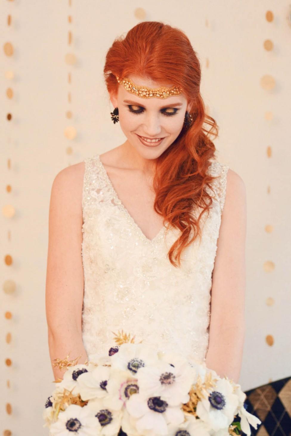 Schwarz, Weiß, Gold – die todschicke Farbpalette für jede Glamour-Party