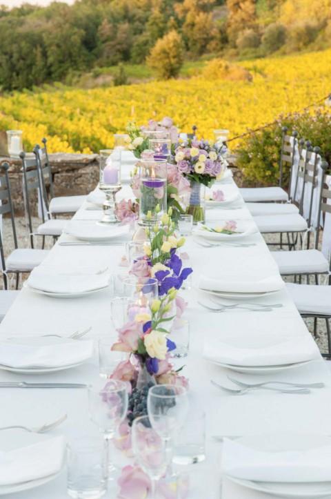 Romantische Hochzeit in der malerischen Toskana Kulisse
