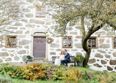 Romantische Herbst-Hochzeitsinspiration im oberösterreichischen Mühlviertel