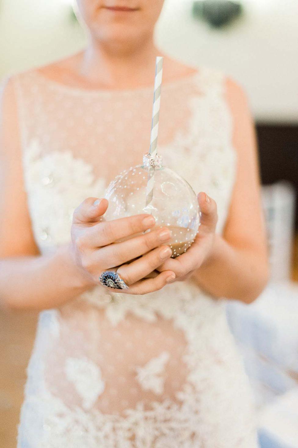 Glamouröse Winter Hochzeitsinspiration