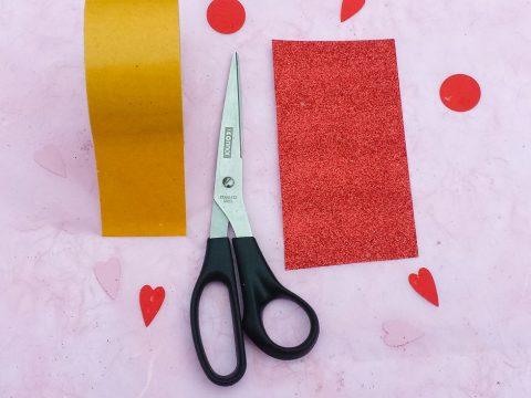 Valentinstag-DIY: Glitzer Konfetti Poppers