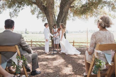 Rustikal charmante Barn-Hochzeit in Kalifornien