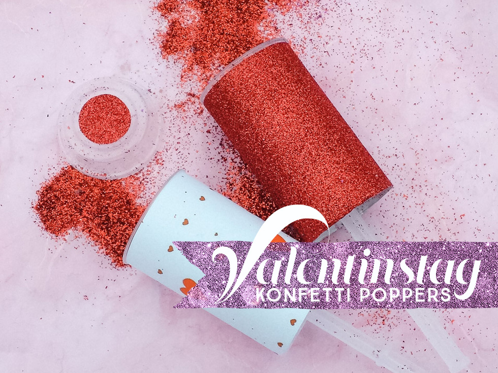 Konfetti Poppers Glitter DIY