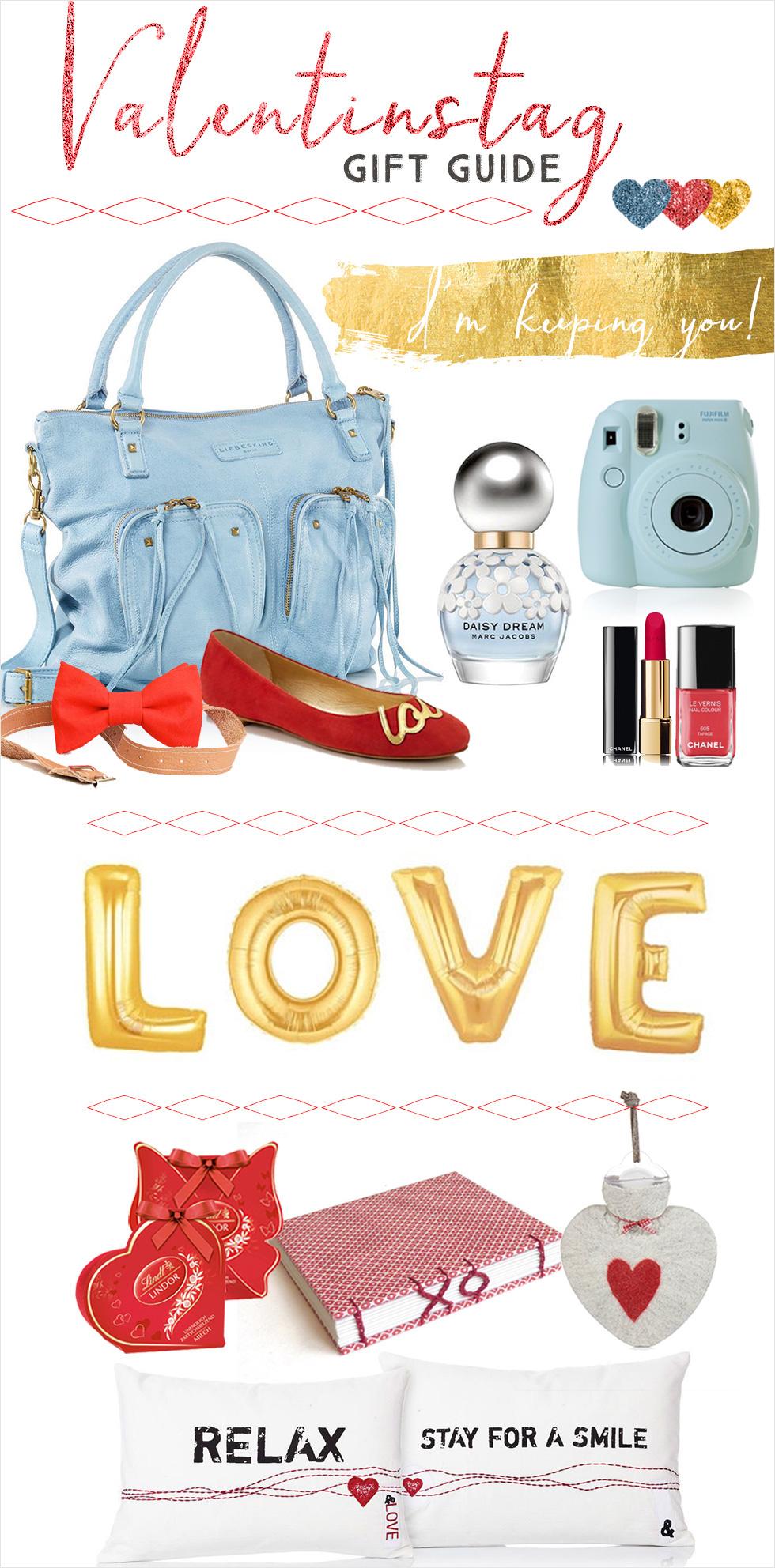 Inspirationssonntag: Unser Valentinstag Gift Guide
