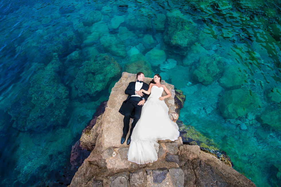 Hochzeitsbilder im Urlaub