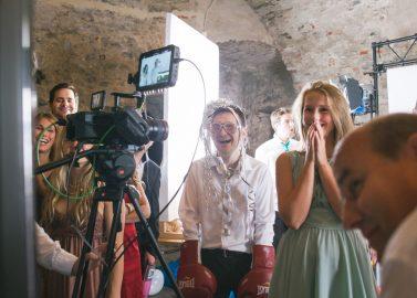 Slow-Motion Booth - ein angesagter Fun-Trend auf Hochzeitsfeiern